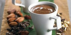 Cashew Nut Hot Chocolate from the book Real Food Chef by Libby Weaver.  #RealFood #HealthyEating
