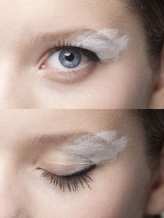 est unique: Angel Wing Eyelids http://ohskies.tumblr.com/
