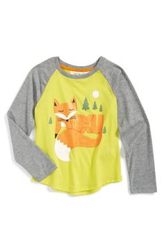 Roxy 'Foxtails' Raglan Graphic Tee (Toddler Girls & Little Girls) available at #Nordstrom