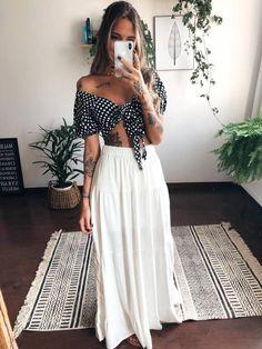 love this outfit Cute Fashion, Boho Fashion, Girl Fashion, Fashion Looks, Fashion Outfits, Trendy Outfits, Summer Outfits, Cute Outfits, Look Street Style