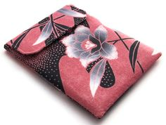 Ipad Cover Silver Blossom Vintage Kimono by WhimsyWooDesigns, £20.00