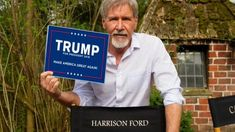 """Hollywood actor Harrison Ford has just said two words to describe President Donald Trump that will make liberals go insane: """"brilliant"""" and """"compassionate.""""Ford"""