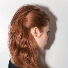 Hair by Bb.Stylist Allen Wood for Tanya Taylor Fashion Week F/W 2013