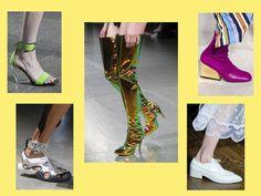 Какой обувью поразила Неделя моды в Лондоне, смотрите в нашей подборке.
