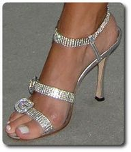 Silver heels for the bridesmaid. Which one do I choose?