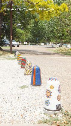 Diversité et art de rue au bord du Paraná @ Rosario - Voyages, endroits de l´Argentine et du monde. Origami