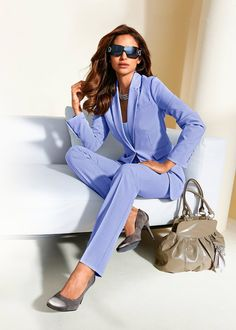 Spodnium Dla kobiet - elegancki komplet damski  #wesele #komplet #fashion #moda #womensfashion #fashion2018 #3w1 #3in1 Jumpsuit, Chic, Casual, Shopping, Beauty, Dresses, Fashion, Fashion Trends, Overalls