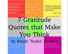 7 Gratitude Quotes That Make You Think