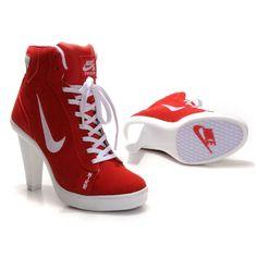 super popular 49af9 9bdff Nike High Heels  Nike Swoosh High Heels, Nike High Heels Outlet Mode Für  Frauen
