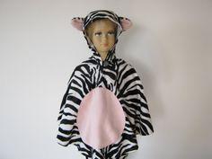 zebra halloween / fasching kostüm cape für von bighead5005 auf Etsy
