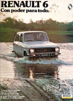 REVISTA GEOMUNDO: RENAULT 6. Matra, Ad Of The World, Nissan Infiniti, Vintage Graphic Design, Car Advertising, First Car, Old Ads, Car Brands, Retro Cars