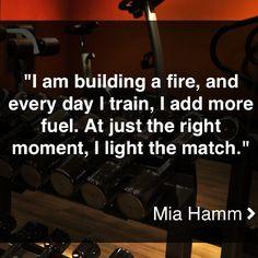 Mia Hamm!