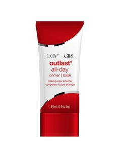 CoverGirl Outlast All-Day Primer, $11.79:  If your primary goal is prolonging the wear of your makeup, then this primer is for you. | allure.com
