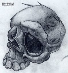 Skull-A-Day: Flash Skulls