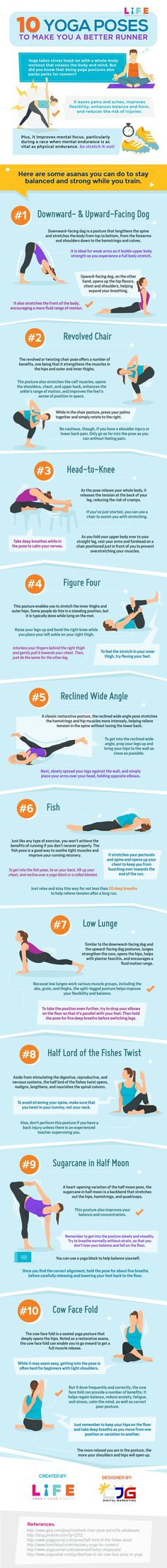 10 Yoga Poses to Make You a Better Runner