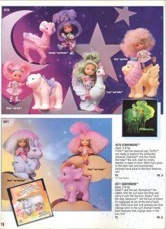 Moon Dreamers: 1988 Hasbro toy catalog.