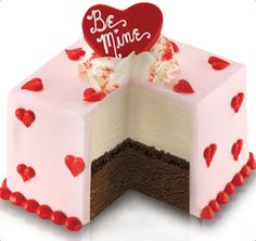 "Love this cake!! * Baskin-Robbins | ""Be Mine"" Mini Valentine Cake"