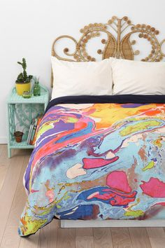 Magical Thinking Marble Duvet Cover #urbanoutfitters