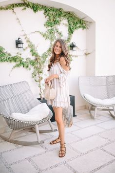 Southern Curls & Pearls: Pom Pom Cover-up in Mexico Casual College Outfits, Summer Outfits, Summer Dresses, Southern Curls And Pearls, Southern Fashion, Boho Fashion Summer, Fashion For Women Over 40, Hippie Outfits, Country Outfits