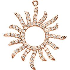 Diamond Sun Dangle