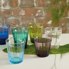 New to DG are these beautiful Lucca tumblers, perfect for outdoor dining
