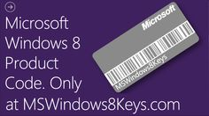 Currently we have a huge amount of Windows 8 Product Keys - enough so that everyone gets one.    We guarantee that all Product Codes are unique and unused. All Codes are ready to be used. Don't wait till it's too late. This is your last chance to get your