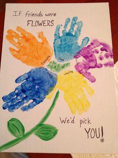 Goodbye craft for daycare children.