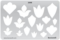 Design Template Stencil for Drawing Drafting Jewellery Making: