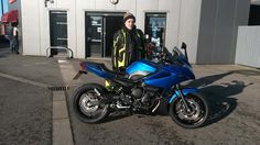 Chris all set for some fun with his #Yamaha #XJ6 #Diversion thanks again pal :) smcbikes.com http://ift.tt/2jvEDFM