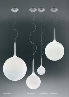 castore sospensione by Michele de Lucchi and Huub Ubbens for Artemide.