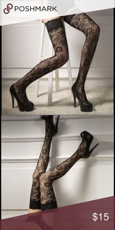 🌹🌷 Knee High Stockings 🌷🌹❗️❗️❗️ 🎀 Women's Sexy Lace Floral Print Knee High🎀❗️ Accessories Hosiery & Socks