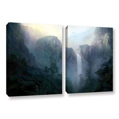 Afternoon Light by Philip Straub 2 Piece Gallery-Wrapped Canvas Set