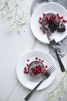 #lavacake #redvelvet #rawcacao #beets #darkchocolate #antioxidants #healthyindulgence #glutenfree #dairyfree #refinedsugarfree #paleo Chocolate Lava Cake, Lava Cakes, Raw Cacao, Baking Sheet, Dessert Recipes, Desserts, Beets, Red Velvet, Dairy Free