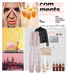 """Stay in bed"" by emma-kathrine ❤ liked on Polyvore featuring Mode, Oris, Balmain, Givenchy, Oscar de la Renta und Ray-Ban"