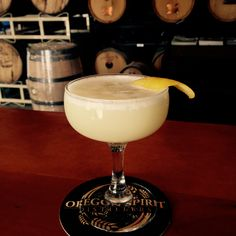 Absinthe Sour 1½ oz Wild Card Absinthe 3⁄4 oz Simple Syrup Juice from 1⁄2 a lemon 3⁄4 oz Egg White