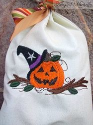 Pumpkin Witch - 3 Sizes! | Fall | Machine Embroidery Designs | SWAKembroidery.com Abigail Michelle