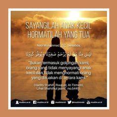 #orangtua #hormati #sayangi