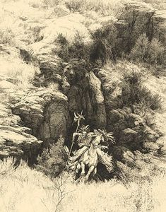 Powers of One by Bev Doolittle- An artist from Whitefish, Montana