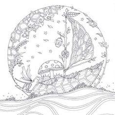 Artist Johanna Basford Enchanted Forest Coloring pages Garden Flower colouring adult detailed advanced printable Kleuren voor volwassenen coloriage pour adulte anti-stress kleurplaat voor volwassenen Line Art Black and White Färbung für Erwachsene coloriage pour adultes colorare per adulti para colorear para adultos раскраски для взрослых omalovánky pro dospělé colorir para adultos