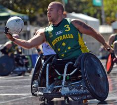 Wheelchair Rugby Tri-Nations begins in Sydney