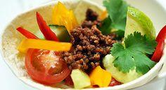 Tortillat salsakastikkeen ja vihannesten kera - Oma harjoittelu | SATS ELIXIA