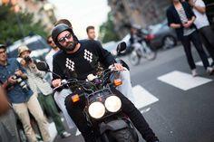 Milan Fashion Week Spring 2014 Street Style, Day 2
