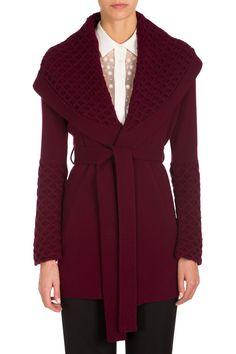 Temperley Honeycomb Knit Jacket