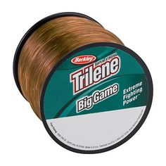 "Trilene Big Game Monofilament Spool - 1500 Yards, 0.012"" Diameter, 10 lbs Breaking Strength, Coastal Brown"
