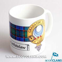 Whitelaw Clan Crest Mug