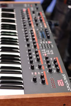 New from Dave Smith Instruments: The Prophet 12 debuted at #NAMM 2013 #synth #drool