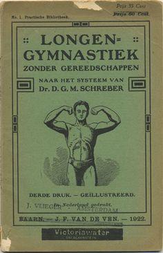Longen gymnastiek zonder greedschappen, 1922. bookcover