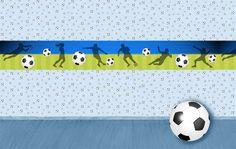 Tapete: Fußball • Mein Bordürenladen - Dawanda