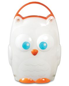 A friendly owl night light is the perfect partner to keep your little one company when he wakes up from a scary dream (or needs to see the way to the potty). Click above to buy one for your child's bedroom.
