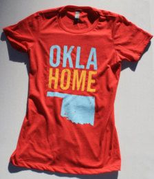 You can take the girl out of Oklahoma, but you can't take the Oklahoma out of the girl. Etsy Women